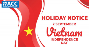 HOLIDAY NOTICE INDEPENDENCE DAY