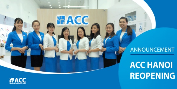Announcement – ACC Ha Noi officially reopen