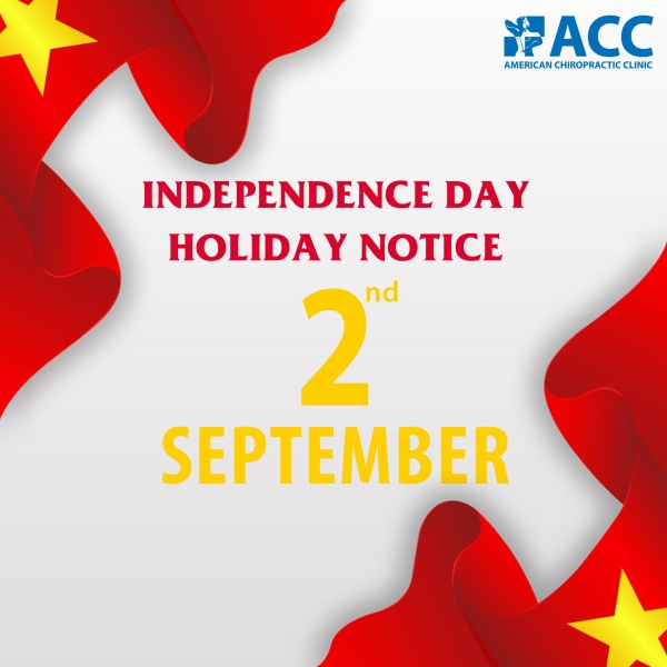 Holiday notice - Independence day of Vietnam 2021