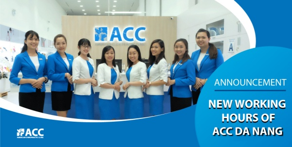 Revised working hours of ACC Da Nang!