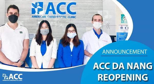 Announcement – ACC Da Nang officially reopen!