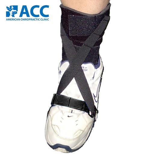 ACC gait foot strap