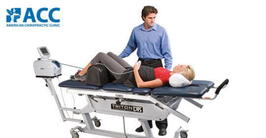 Trị liệu DTS kéo giãn giảm áp cột sống