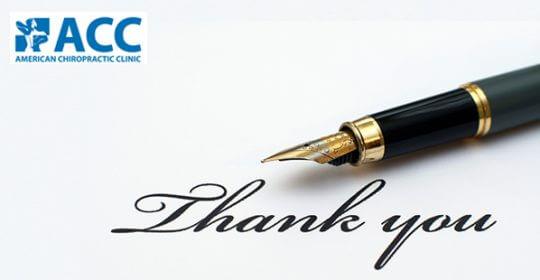 Thư cảm ơn của bệnh nhân Lê Văn Phụng