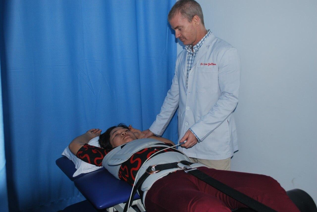 Bệnh nhân đang được điều trị bằng DTS