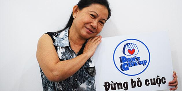 Thư cảm ơn của Huỳnh Mỹ Tuyết – 52 tuổi