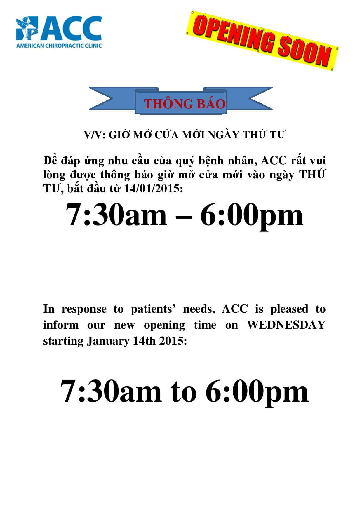NOTICE BUSINESS HOUR (Wed Jan 14 2015) notice-page-001