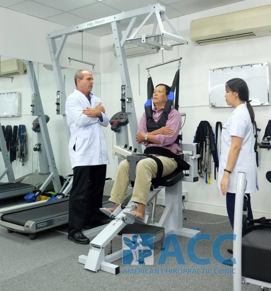 điều trị đau cột sống thắt lưng