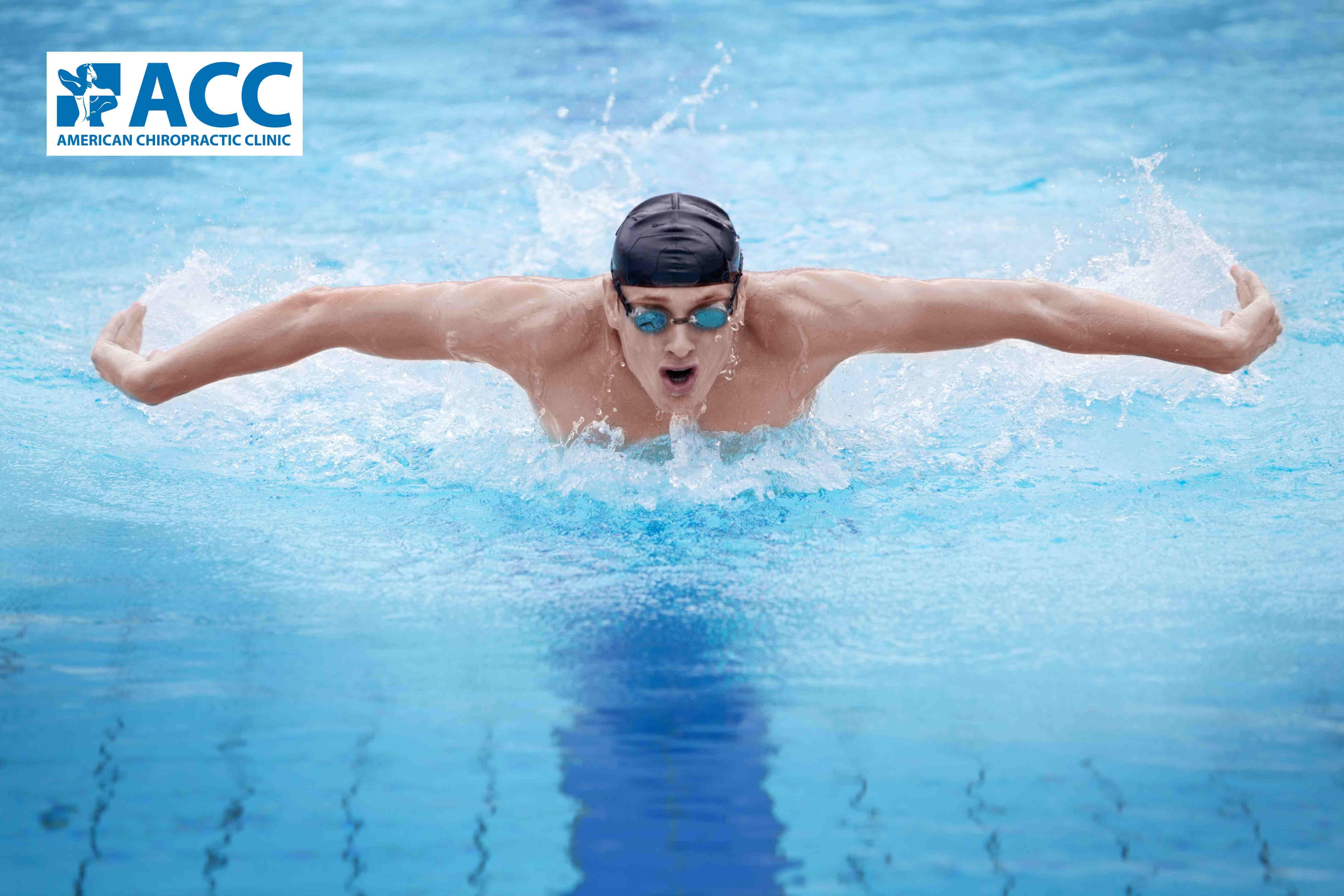 Bơi lội giúp giảm quá trình thoái hóa cột sống