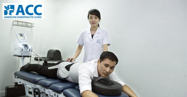 Vật lý trị liệu chữa thoái hoá cột sống lưng tại phòng khám ACC