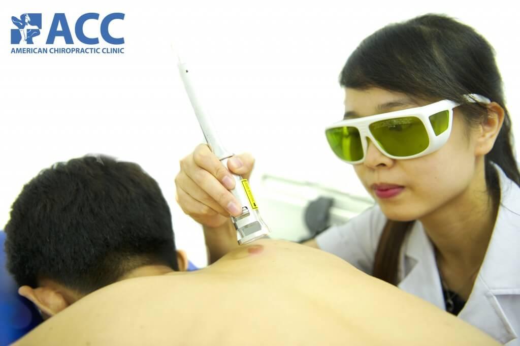 Tia laser cường độ cao thế hệ mới nhất hỗ trợ giảm đau an toàn