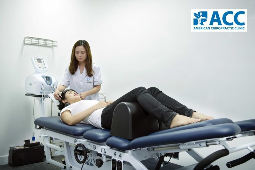 ACC điều trị hiệu quả thoát vị đĩa đệm bằng các thiết bị hiện đại