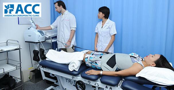 Vật lý trị liệu chữa đau lưng tại Phòng Khám ACC