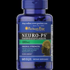 Viên Uống Bổ Não Neuro-PS (Phosphatidylserine)