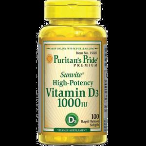 Viên Uống Bổ Sung Vitamin D3 – 1000 IU