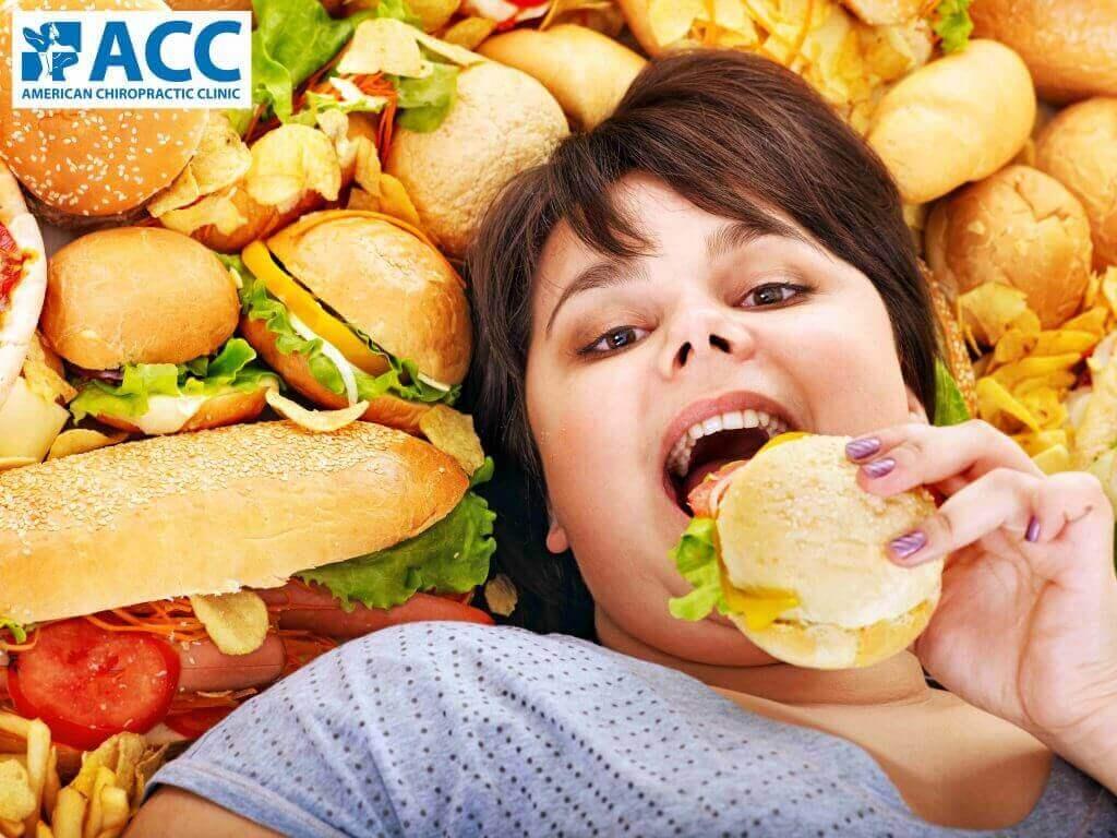 béo phì gây đau lưng