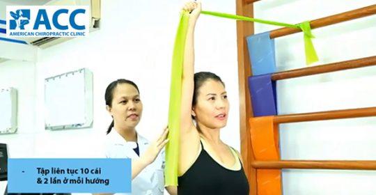 Điều trị phục hồi với dây đàn hồi tại ACC