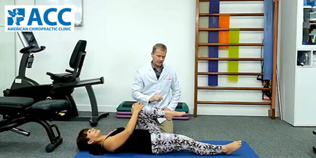 1 phút tập giúp giảm đau thần kinh tọa