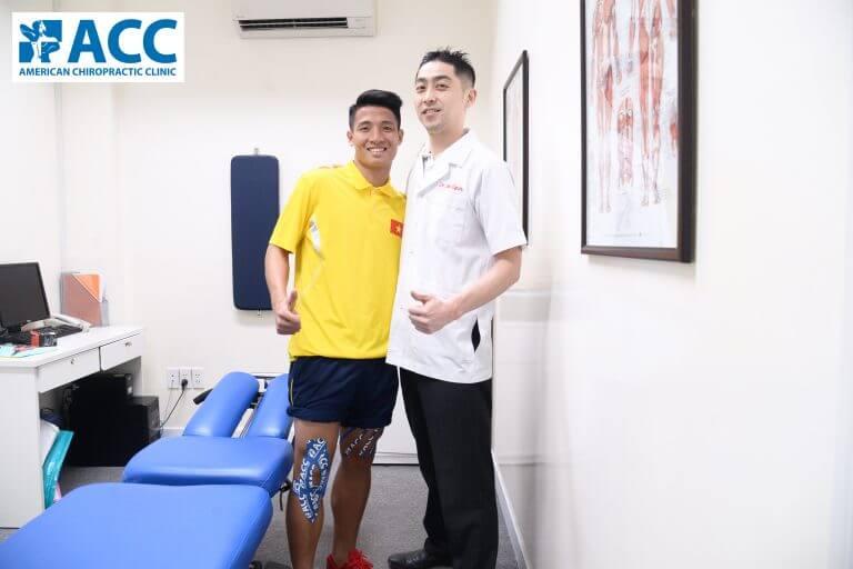 băng dán cơ RockTape cố định vùng đau nhức cơ bắp