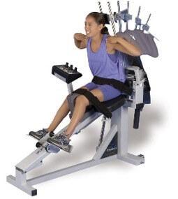 ghế tập phục hồi cơ bắp PneuBack Chair
