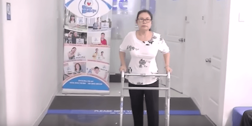 Cô Nguyễn Thị Tuyết tạm biệt cơn đau do thoái hóa cột sống tại ACC