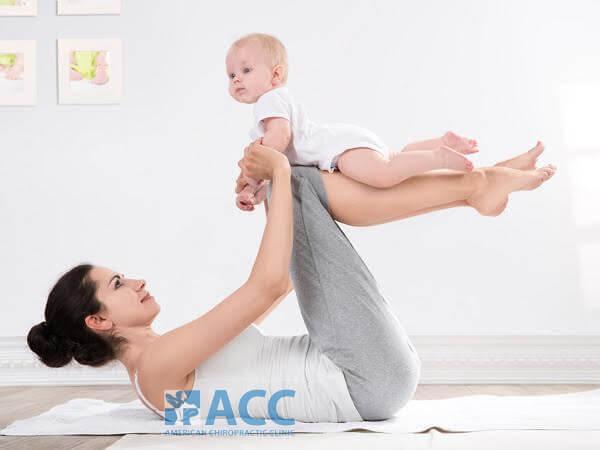 chữa đau lưng sau sinh
