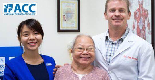 Chữa dứt thoát vị đĩa đệm cho bệnh nhân cao tuổi – bà Nguyễn Thị Chắt