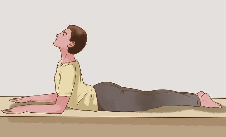 Kéo giãn với tư thế Yoga chữa thoái hóa cột sống