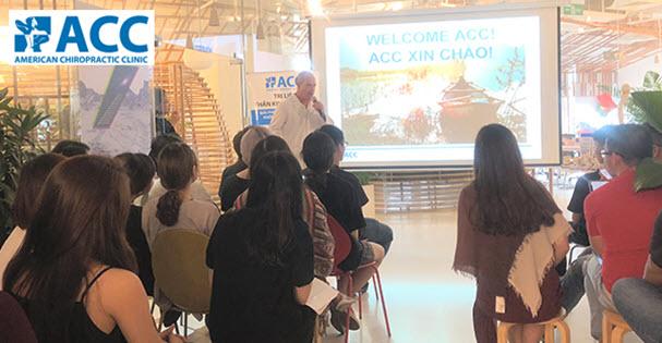ACC chia sẻ bí quyết phòng ngừa bệnh văn phòng cùng nhân viên the Purpose Group