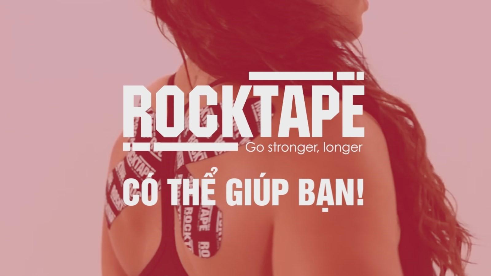 Tự tin khoe dáng đẹp cùng RockTape