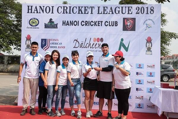 ACC sát cánh cùng giải Hanoi Cricket 2018