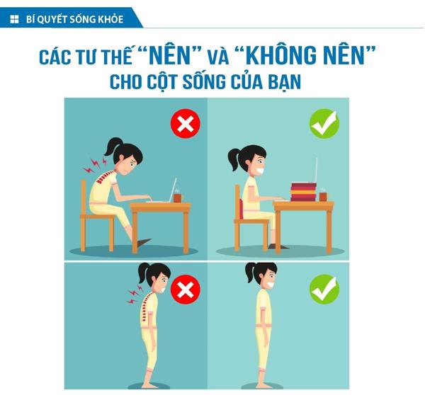 cách ngăn ngừa đau cổ