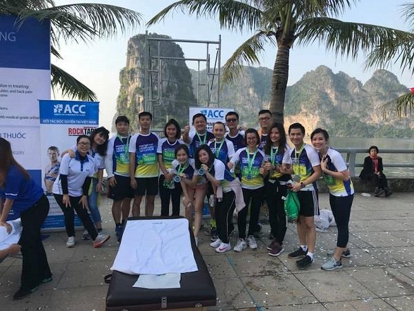 ACC đồng hành Ha Long Heritage Marathon 2018