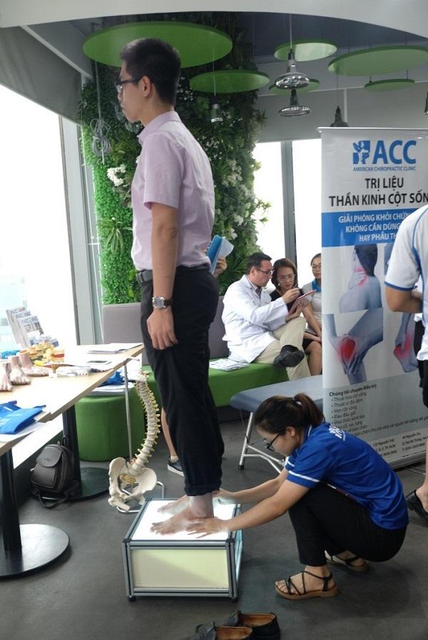 Phòng khám ACC tư vấn bệnh văn phòng