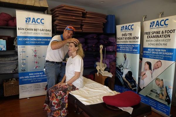 ACC thăm khám tại Hội chợ sức khỏe