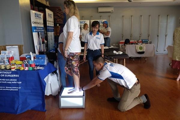 ACC tại hội chợ sức khỏe Hà Nội