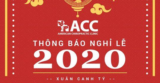THÔNG BÁO NGHỈ TẾT DƯƠNG LỊCH & TẾT NGUYÊN ĐÁN 2020
