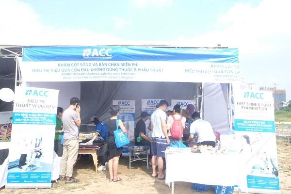 Sự kiện phòng khám ACC tham gia Hội chợ từ thiện