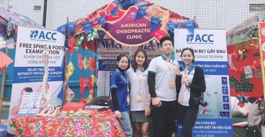 Phòng khám ACC  đồng hành cùng trường quốc tế BVIS trong hội chợ Tết tại Hà Nội