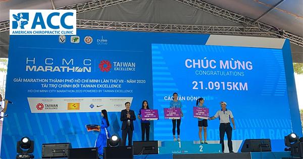 """ACC CÙNG LAN TỎA THÔNG ĐIỆP """"HƠN CẢ MỘT CUỘC ĐUA"""" TẠI HCMC MARATHON 2020"""