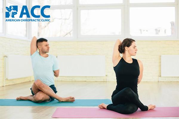 tư thế yoga giảm đau vai gáy