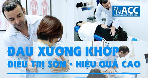 điều trị đau xương khớp hiệu quả