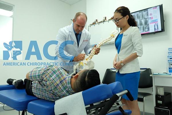 điều trị trật khớp cổ chân tại phòng khám ACC