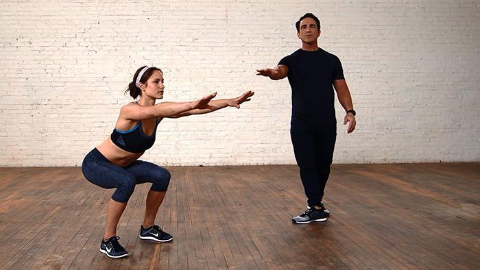 tập luyện squat đúng cách