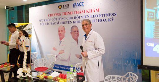 Hội thảo tư vấn sức khỏe cột sống, thể thao với các bác sỹ Thần kinh cột sống