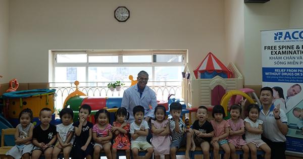 Hội thảo tầm soát sức khỏe bàn chân và cột sống dành cho trẻ em lứa tuổi mầm non