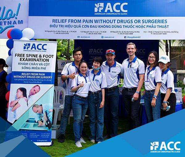 Khòng khám ACC và Hiệp hội thương mại Hoa Kỳ Amcham