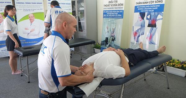 Tầm soát sức khỏe cột sống cơ xương khớp tại bể bơi Green Pool – 20 Thụy  Khuê