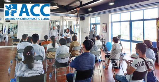 Hội thảo sức khỏe dành riêng cho các bệnh nhân tại phòng khám ACC