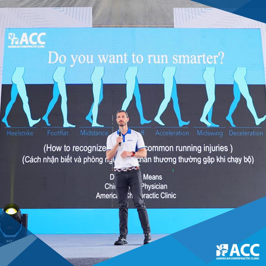 Phòng khám ACC tại Sự kiện Salonpas HCMC Marathon 2021